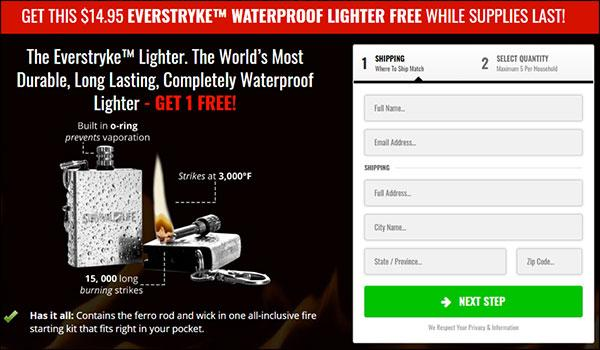 Free lighter tripwire